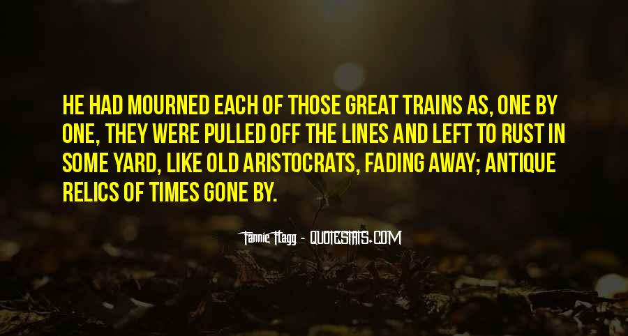 Quotes About Fading #481603