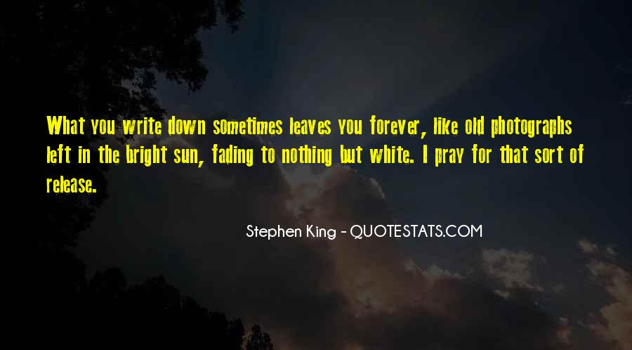 Quotes About Fading #70647