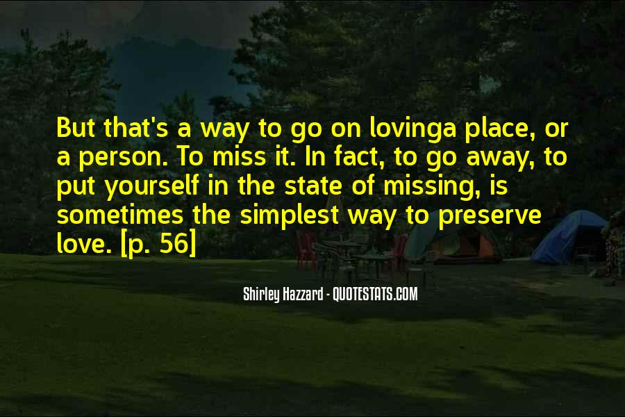 Quotes About Missing Someone And Love #116467