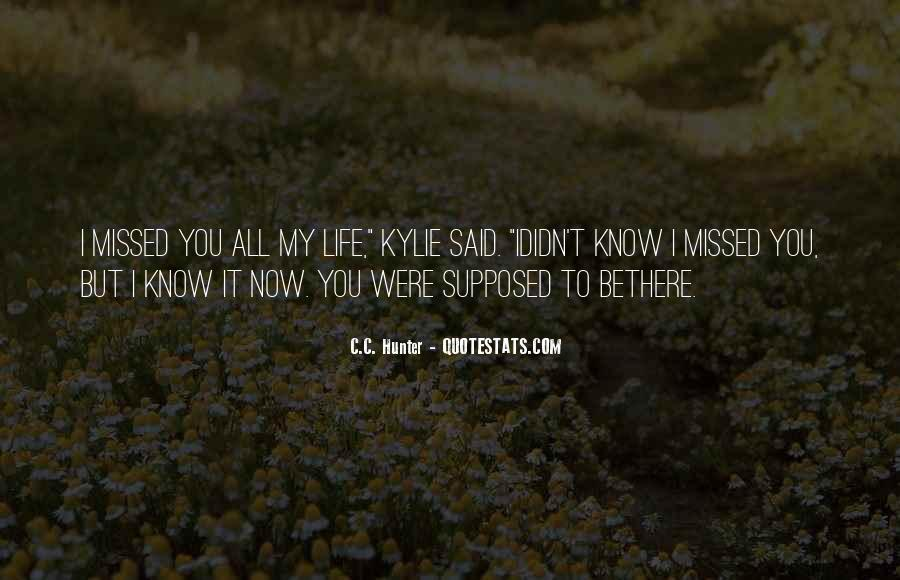 Quotes About Missing Someone And Love #210166