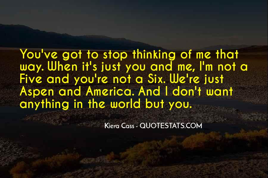 Quotes About Thinking Of You #2900