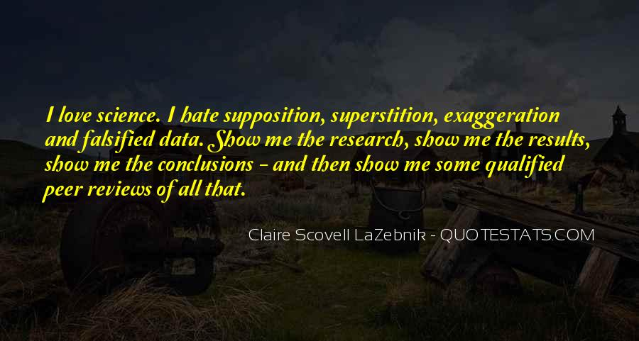 Quotes About Supposition #1239646