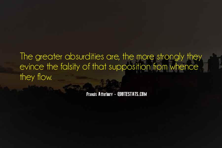 Quotes About Supposition #1733568