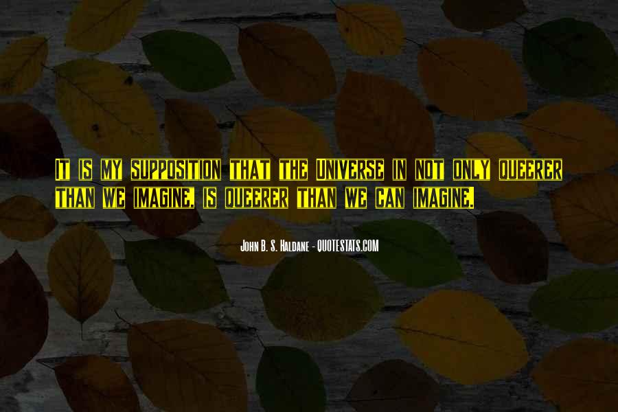 Quotes About Supposition #466178