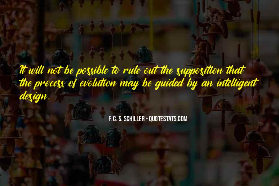 Quotes About Supposition #698924