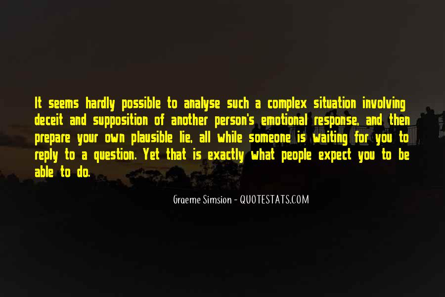 Quotes About Supposition #792932
