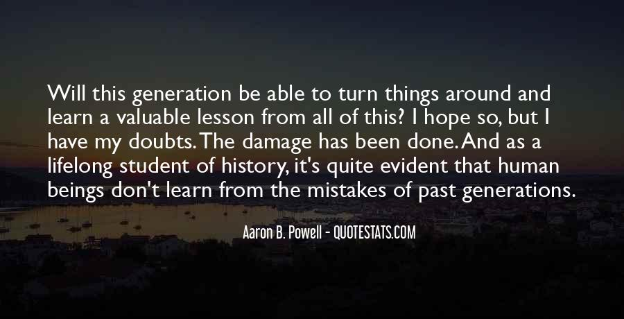 Quotes About Learning Valuable Lessons #1287748