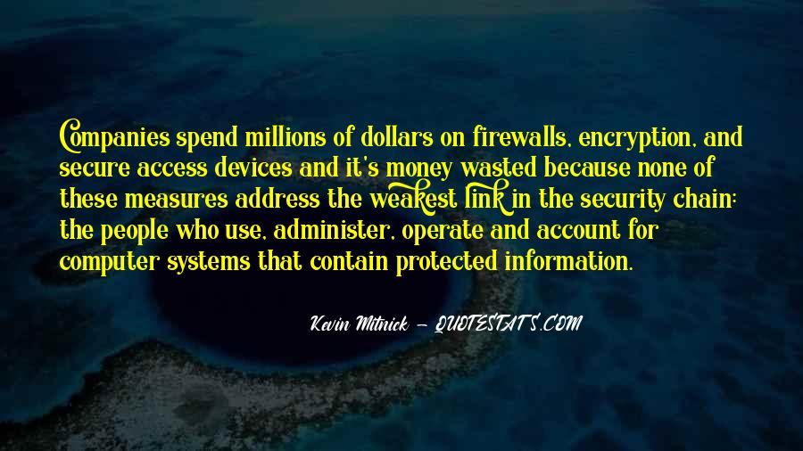 Quotes About Security Systems #1250904
