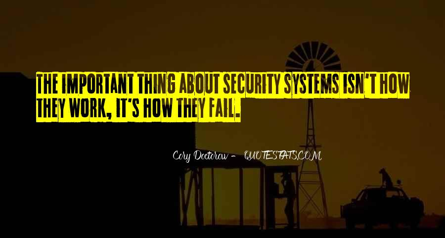 Quotes About Security Systems #5006