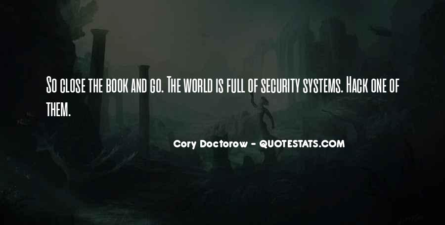 Quotes About Security Systems #616363