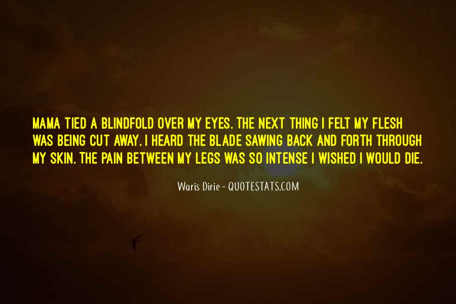 Quotes About Pain In Your Eyes #143517