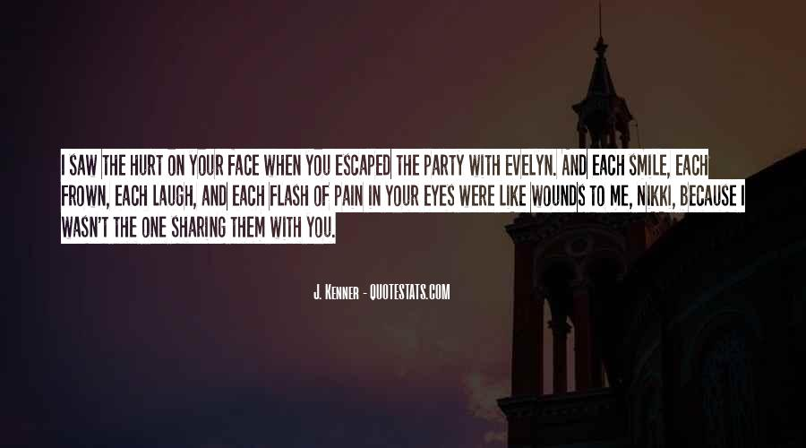 Quotes About Pain In Your Eyes #145144