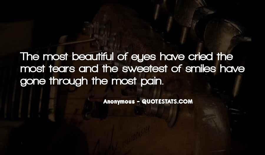 Quotes About Pain In Your Eyes #353980