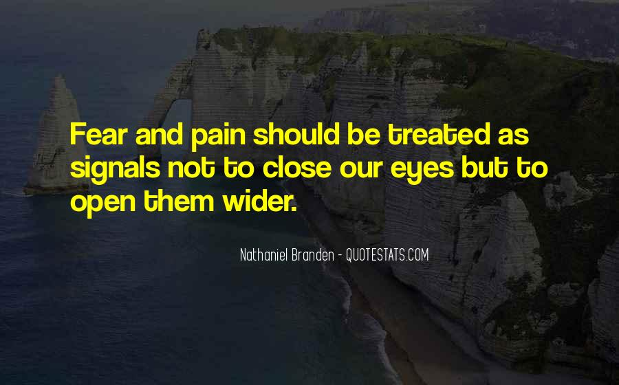 Quotes About Pain In Your Eyes #433257