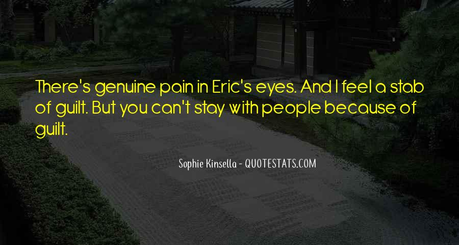 Quotes About Pain In Your Eyes #44309