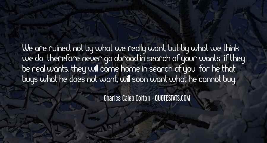 Quotes About Come Home Soon #180538