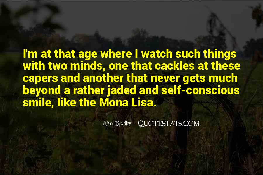 Quotes About The Mona Lisa #1094051