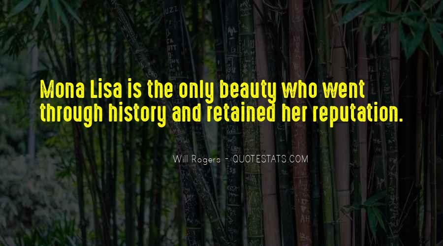 Quotes About The Mona Lisa #1240407