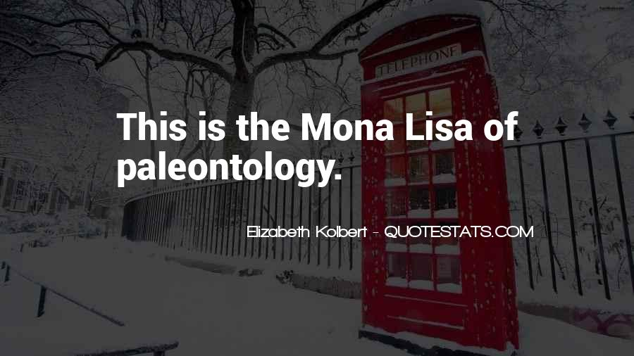 Quotes About The Mona Lisa #1255544