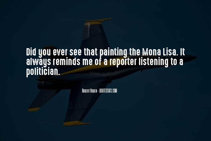 Quotes About The Mona Lisa #1519944