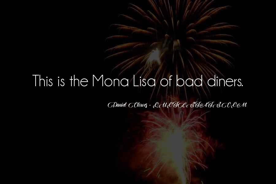 Quotes About The Mona Lisa #1692956