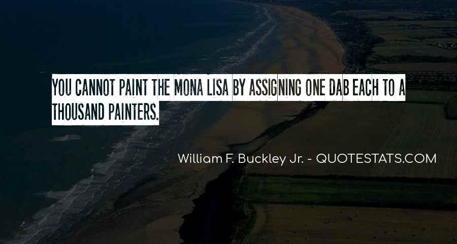 Quotes About The Mona Lisa #1769172