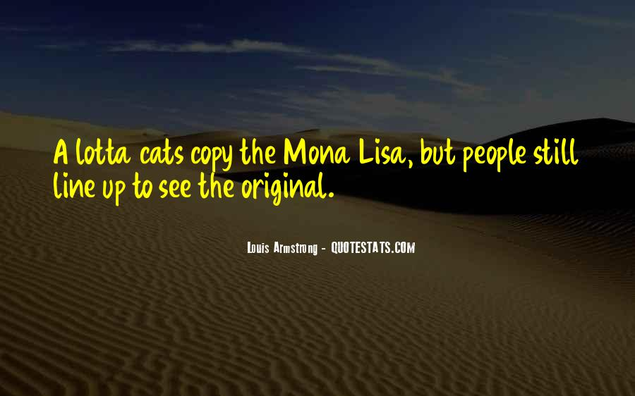 Quotes About The Mona Lisa #275855