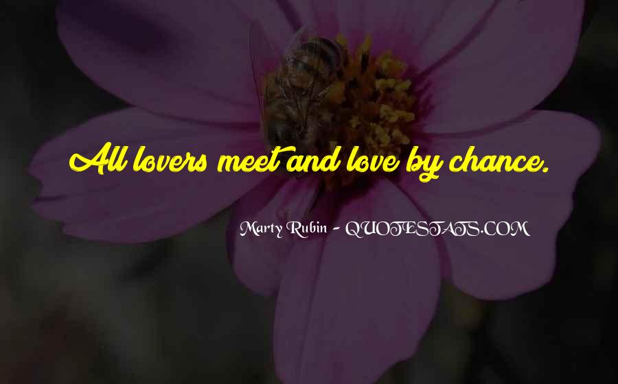 Quotes About Chance And Love #146126