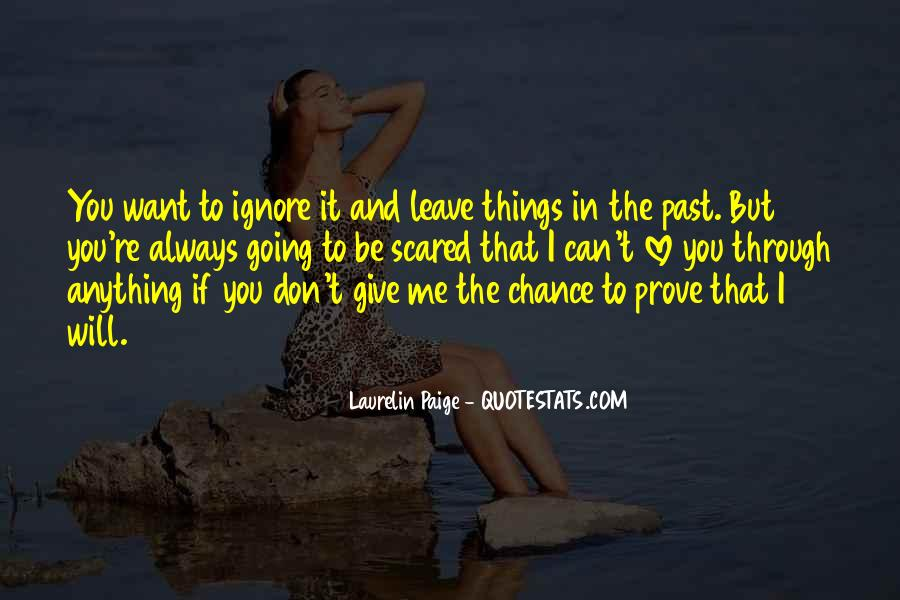 Quotes About Chance And Love #179118