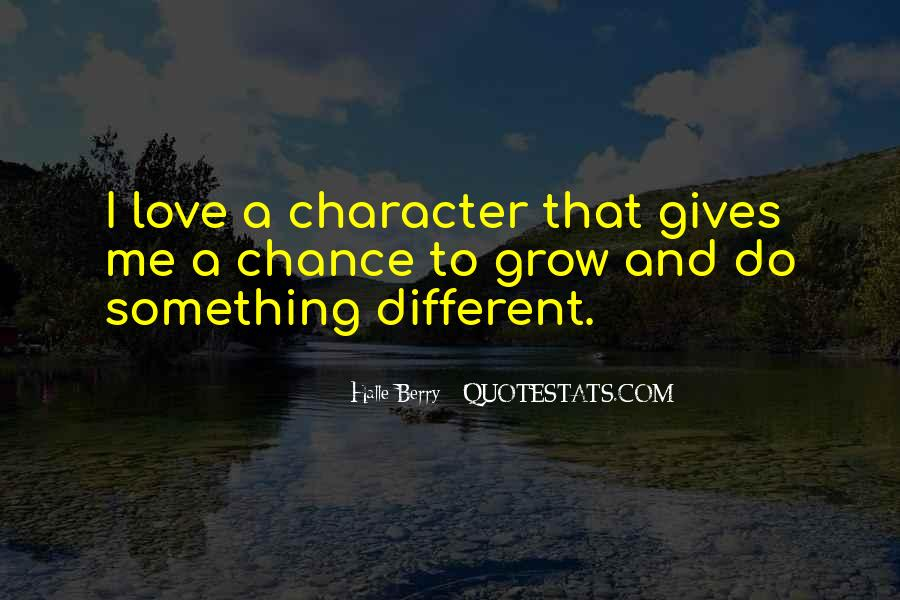 Quotes About Chance And Love #216388
