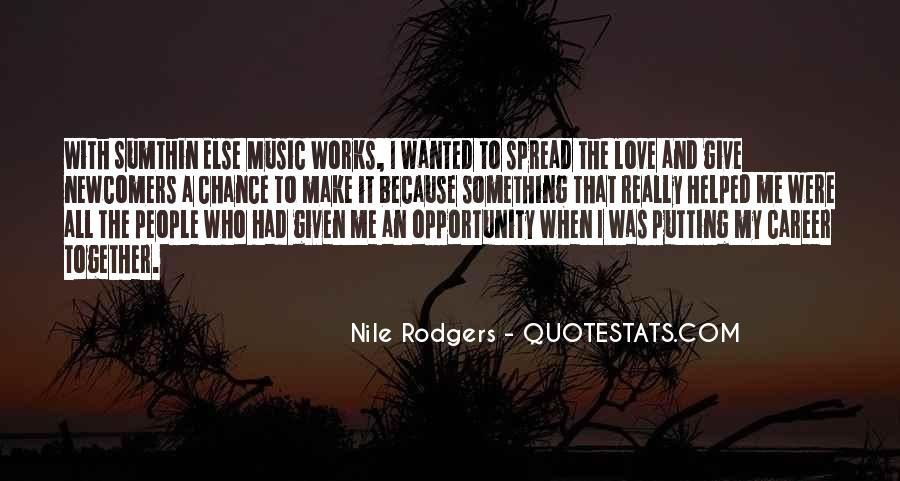 Quotes About Chance And Love #220163
