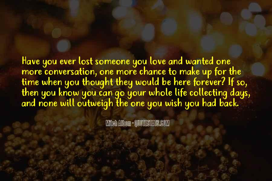 Quotes About Chance And Love #281918