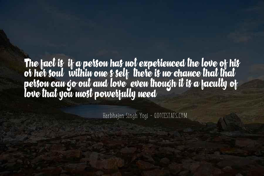 Quotes About Chance And Love #424351