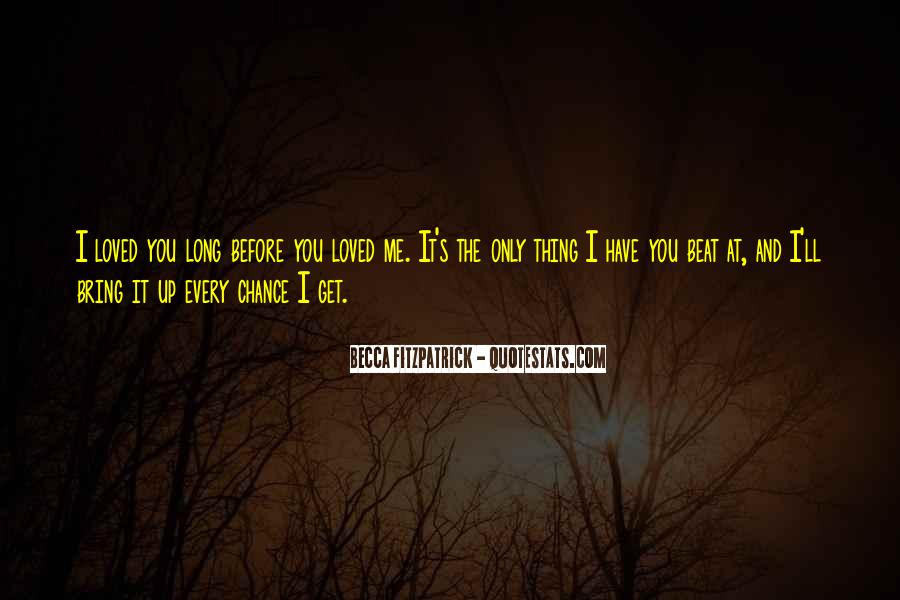 Quotes About Chance And Love #435110