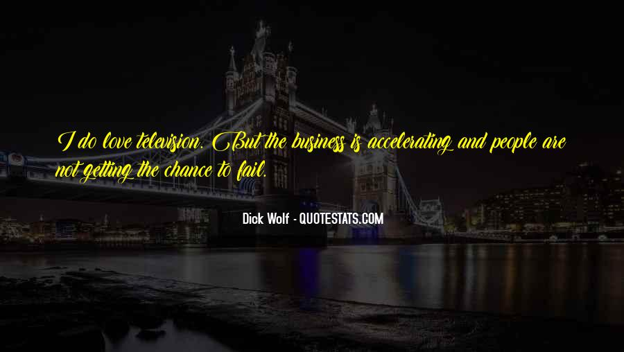 Quotes About Chance And Love #514676