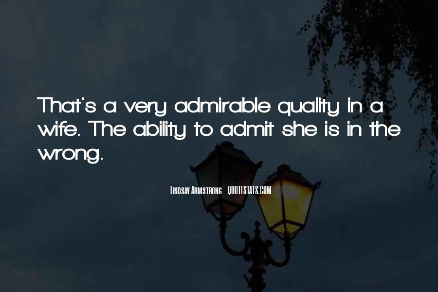 Quotes About Admirable Qualities #1818744