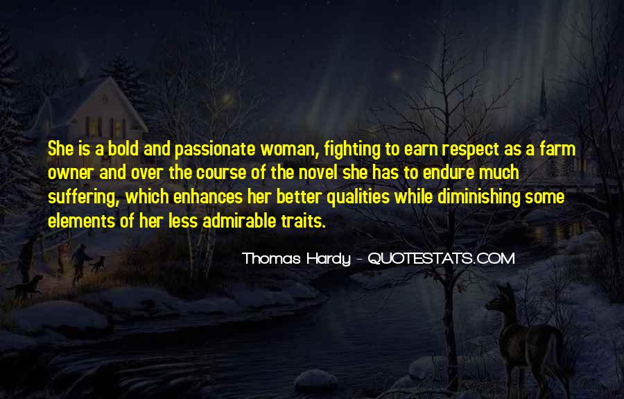 Quotes About Admirable Qualities #999805