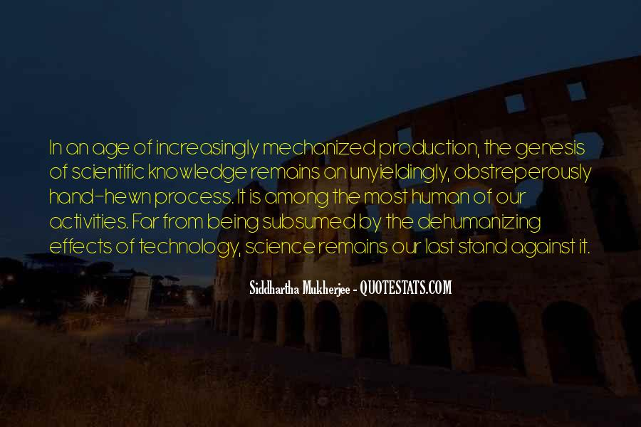 Quotes About Effects Of Technology #1073078