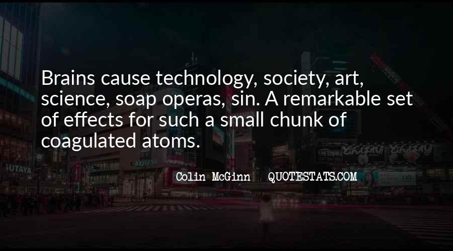 Quotes About Effects Of Technology #160953