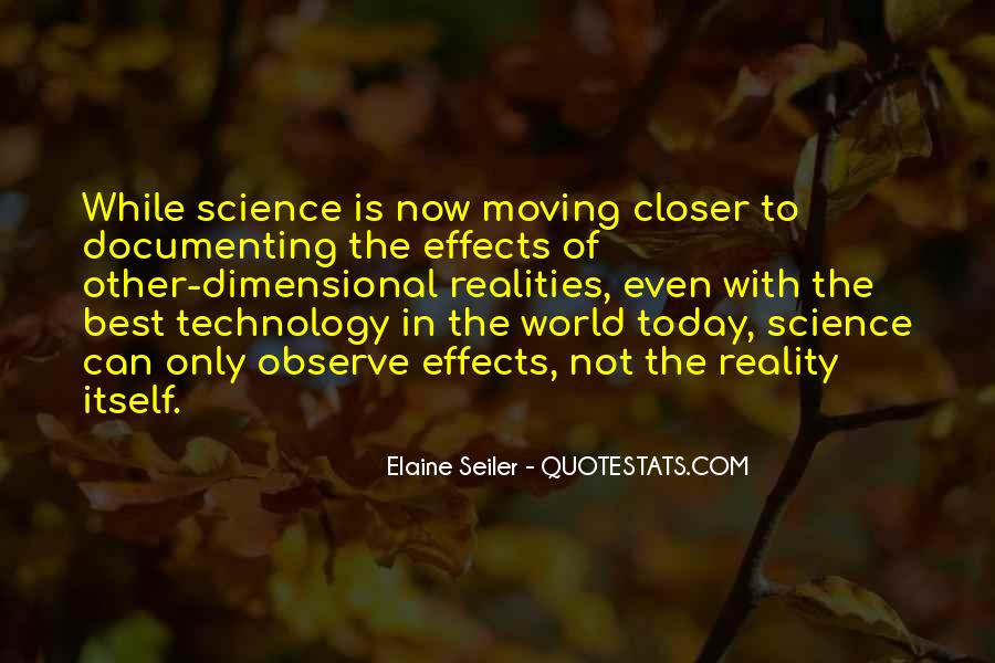 Quotes About Effects Of Technology #1824088