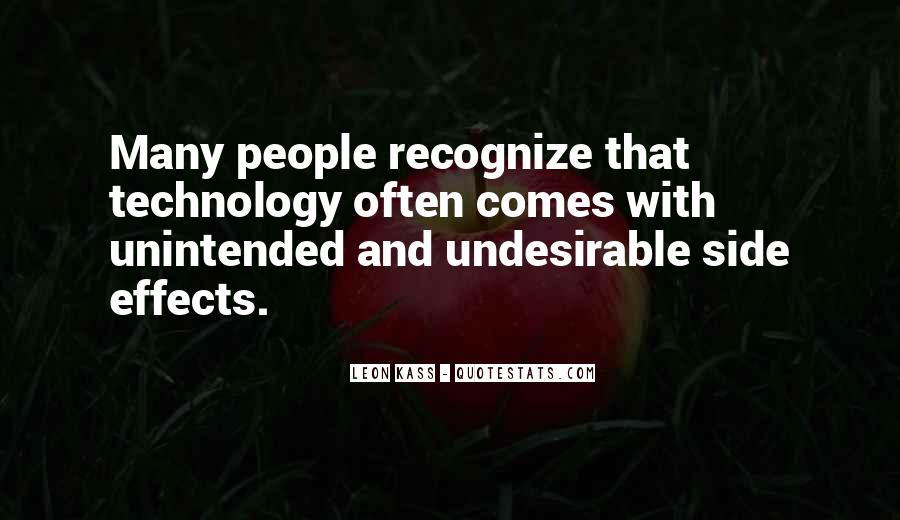 Quotes About Effects Of Technology #1846099