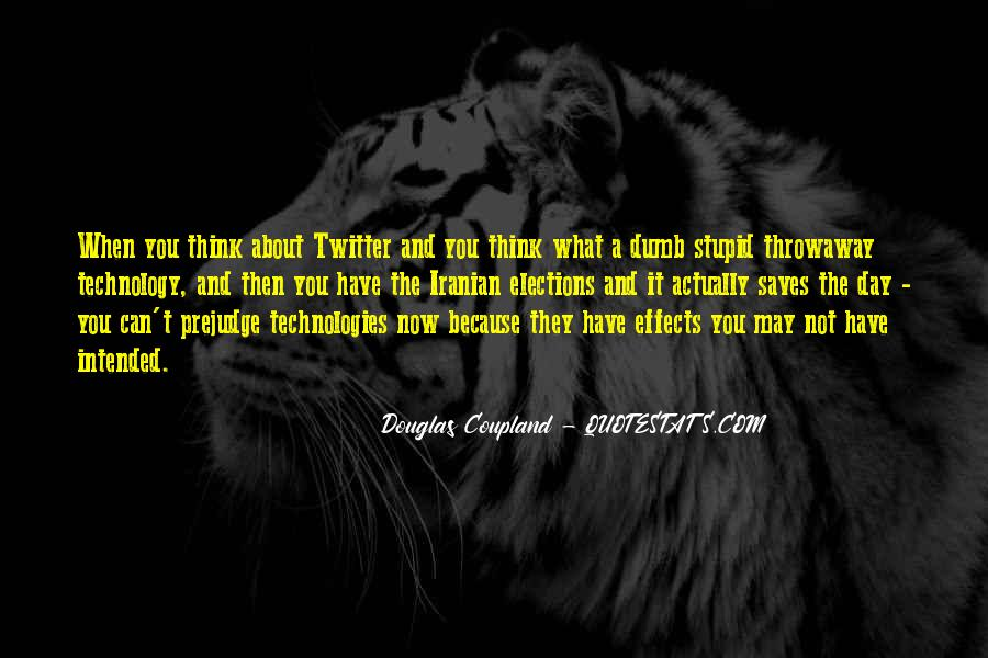 Quotes About Effects Of Technology #199308