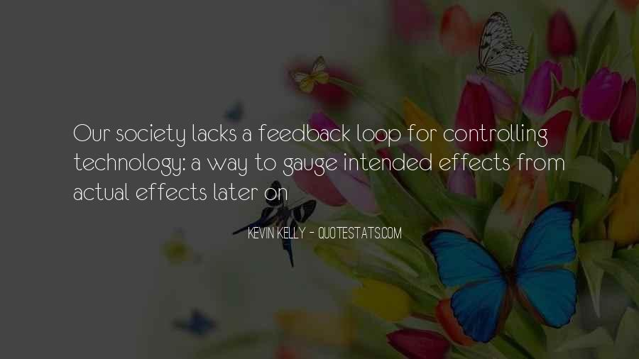 Quotes About Effects Of Technology #205495