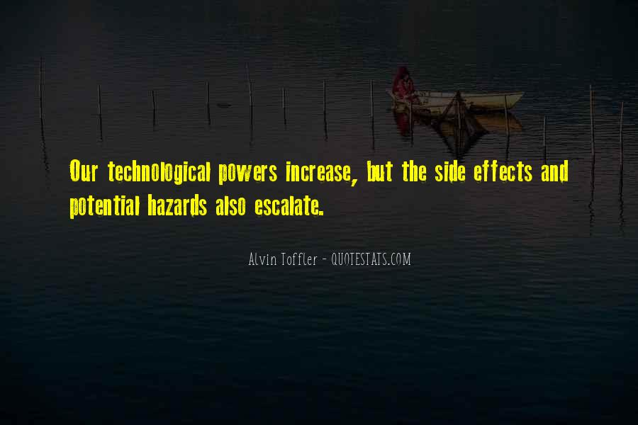 Quotes About Effects Of Technology #590216