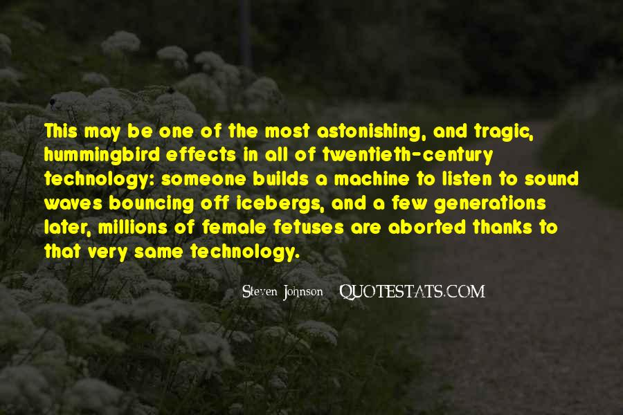 Quotes About Effects Of Technology #679752