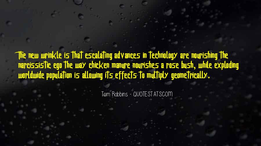 Quotes About Effects Of Technology #736202