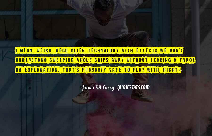 Quotes About Effects Of Technology #846186