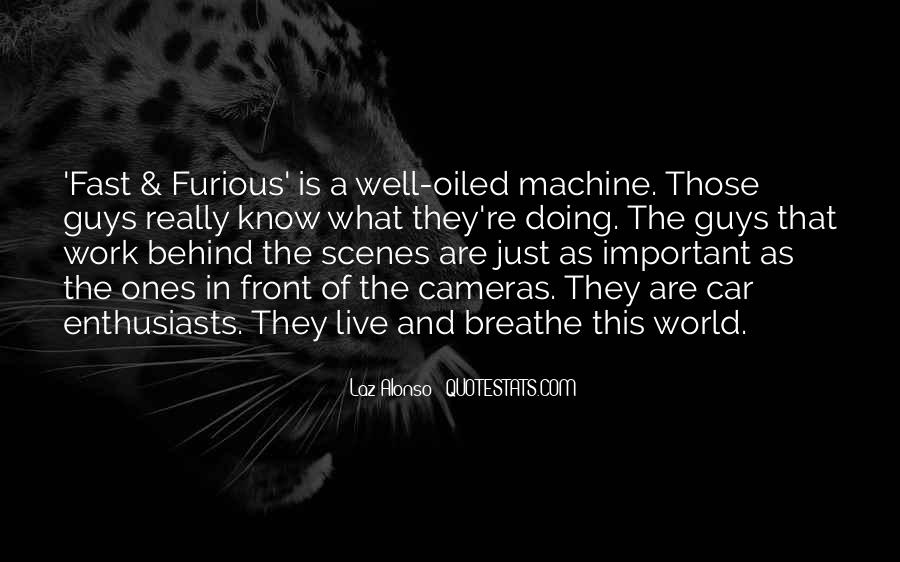 Quotes About Fast & Furious 7 #1560223
