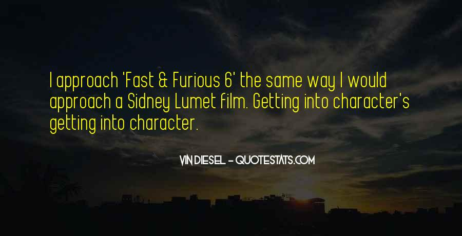 Quotes About Fast & Furious 7 #621214