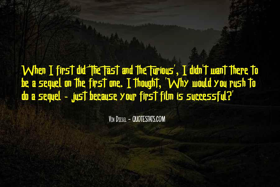 Quotes About Fast & Furious 7 #664626